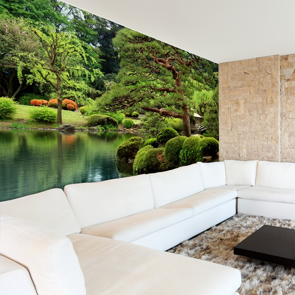 Fotomurales de paisajes for Vinilos murales adhesivos