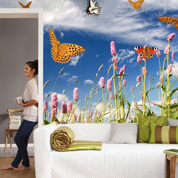 Fotomurales: Mariposas