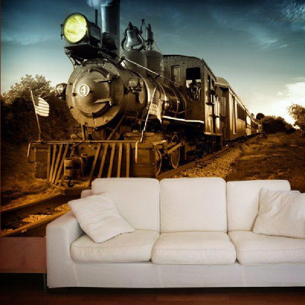 Fotomurales: Vintage Locomotive