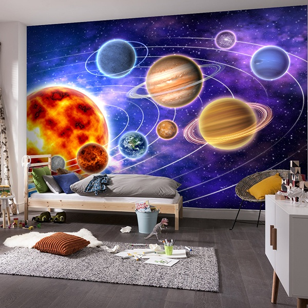 Fotomurales: Sistema Solar