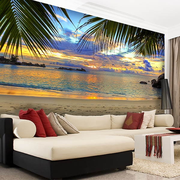 fotomurales para el recibidor. Black Bedroom Furniture Sets. Home Design Ideas