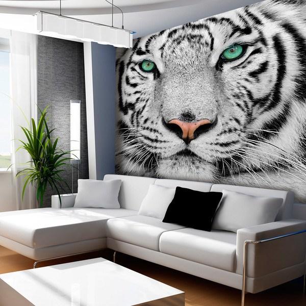 Fotomurales: Tigre blanco o albino