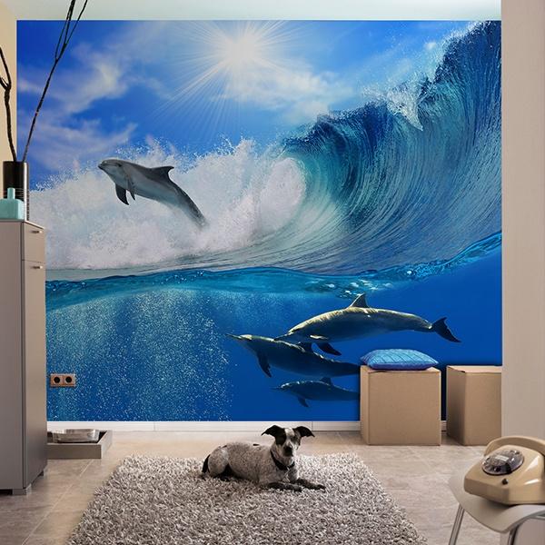 Fotomurales: Delfines