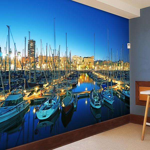 Fotomurales: Puerto Barcelona