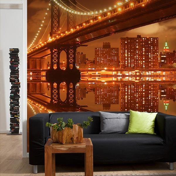 Fotomurales: Puente de Manhattan