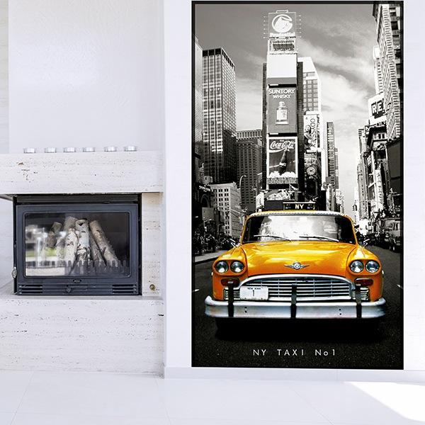 Fotomurales: Taxi Nº1