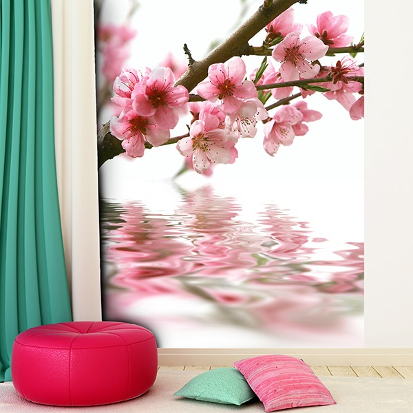 Fotomurales: Almendro en flor