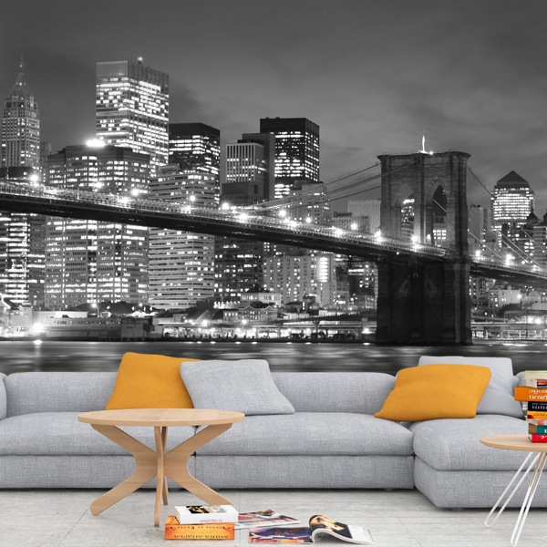 Fotomurales: Puente de Brooklyn