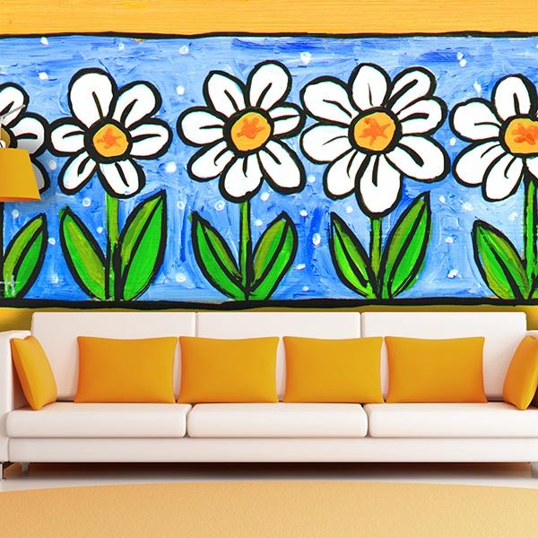 Fotomurales: Flores