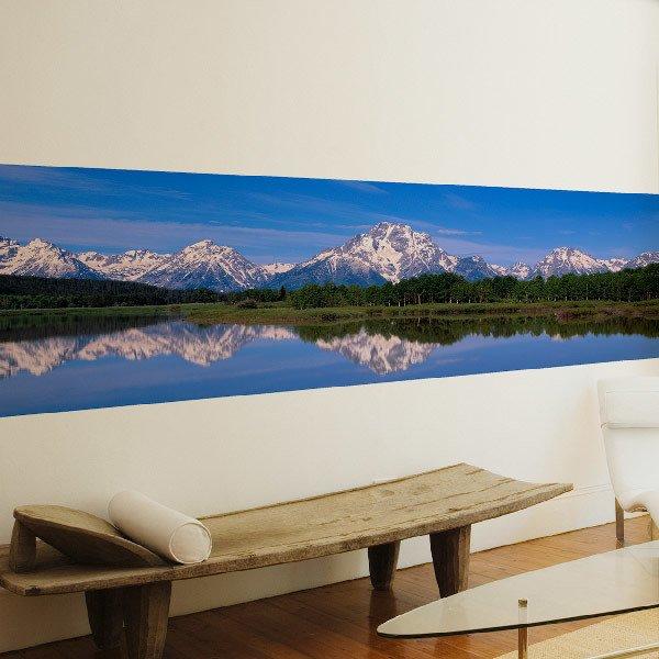 Fotomurales: El lago de las montañas