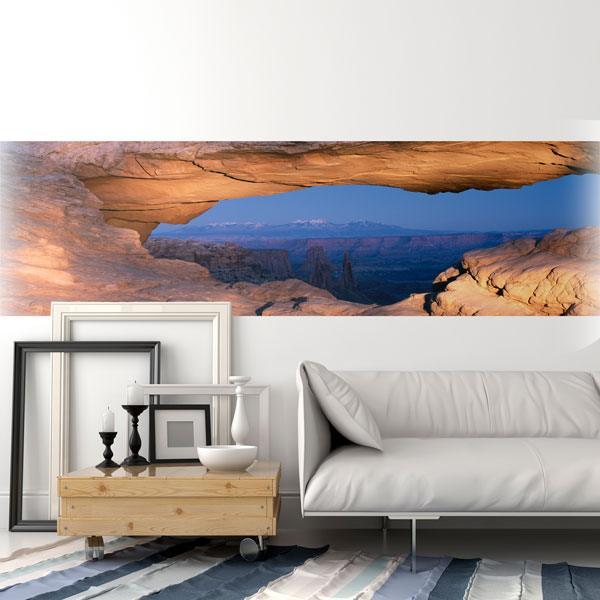 Fotomurales: Grieta en las rocas