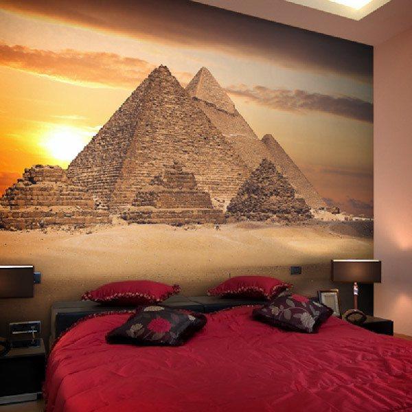 Fotomurales: Piramides de Giza