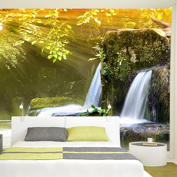 Fotomurales de paisajes for Como pegar papel mural