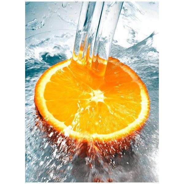Fotomurales: Naranja y agua