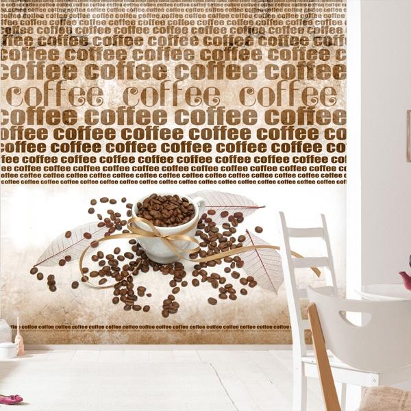 Fotomurales: 64º: Café