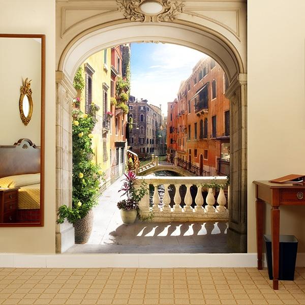 Fotomurales: Pórtico en Venecia