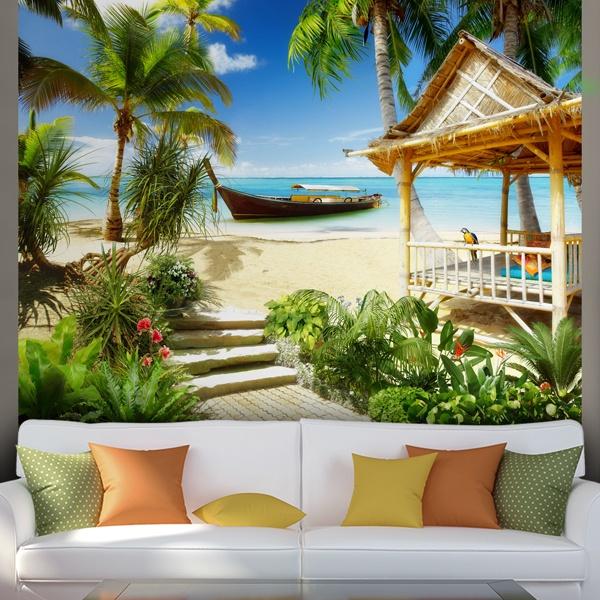 Fotomurales: Playa caribeña