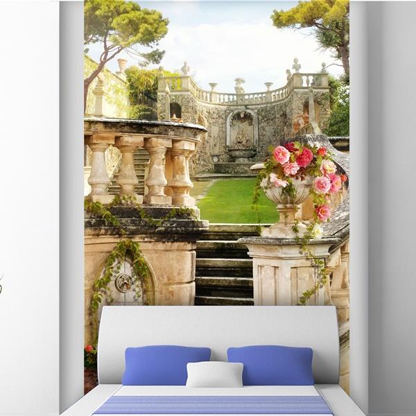 Fotomurales: Antiguo jardín de palacio