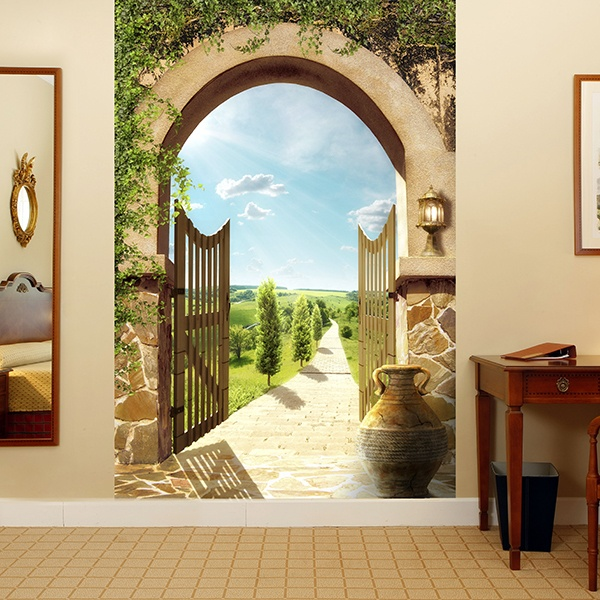 Fotomurales: Villa campestre