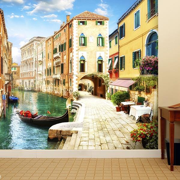 Fotomurales: Paseo por Venecia 5