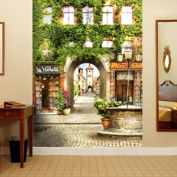 Fotomurales: Calle antigua