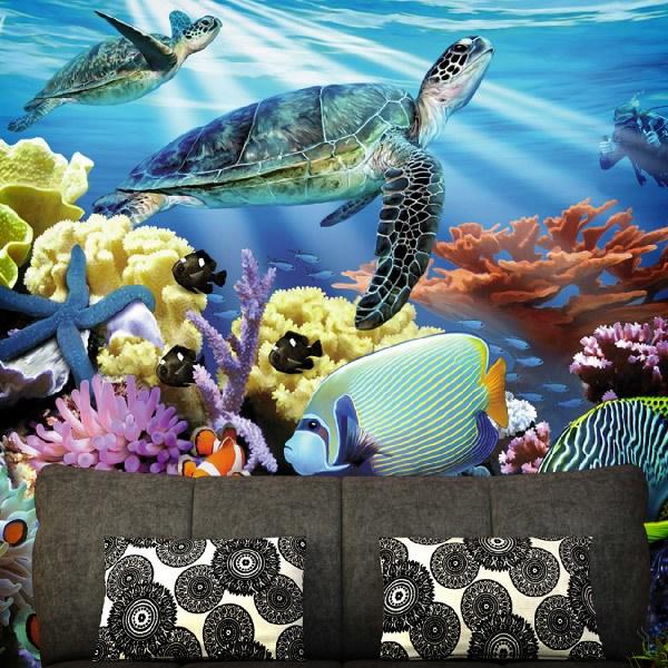 Fotomurales: Fondo del mar