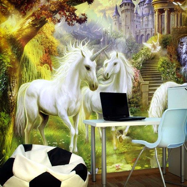 Fotomurales: Unicornios