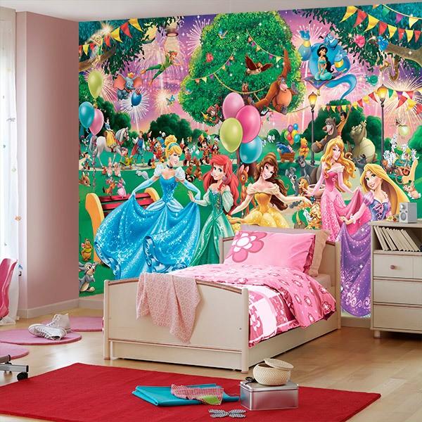 Fotomurales: Fotomural de Princesas Disney