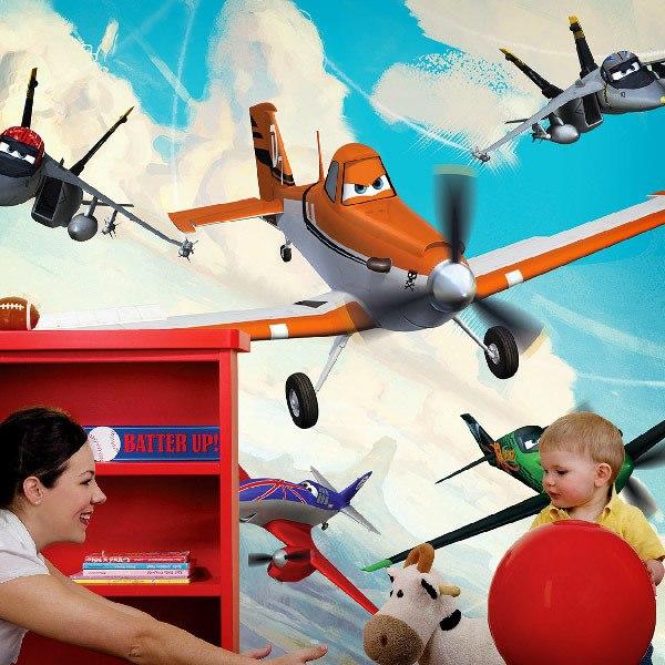 Fotomurales: Fotomural de Aviones