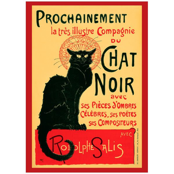 Fotomurales: Chat Noir