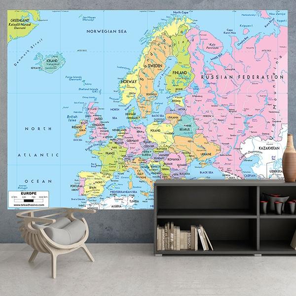 Fotomurales: Europa Política 1