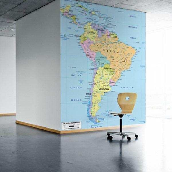 Fotomurales: América del Sur Política 1