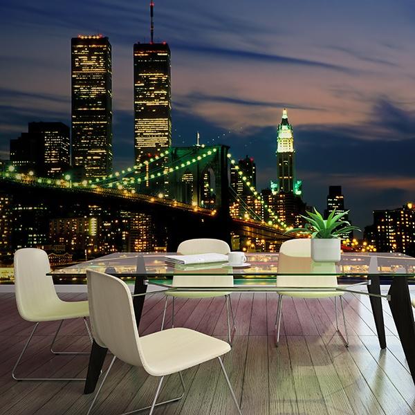 Fotomurales: New York WTC desde Brooklyn
