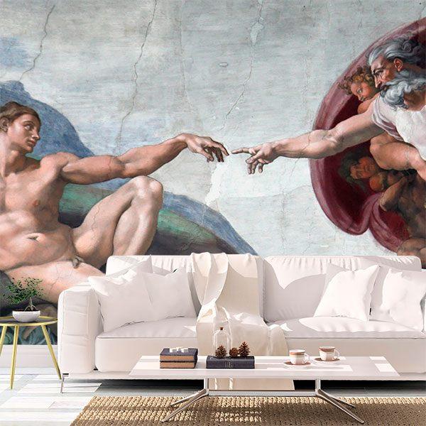 Fotomurales: Creación de Adan_Michelangelo 0