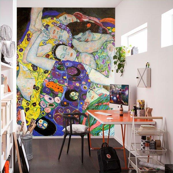 Fotomurales: La virgen_Klimt