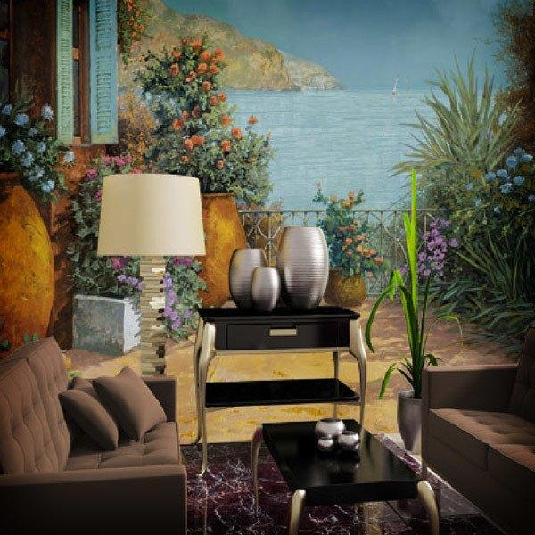 Fotomurales: -----Macetas en la terraza----- (Guido Borelli)