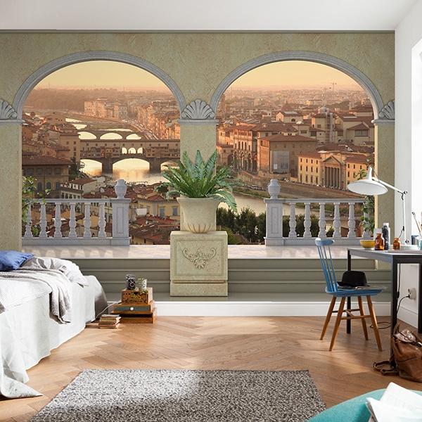 Fotomurales: 105º: Vista de Florencia