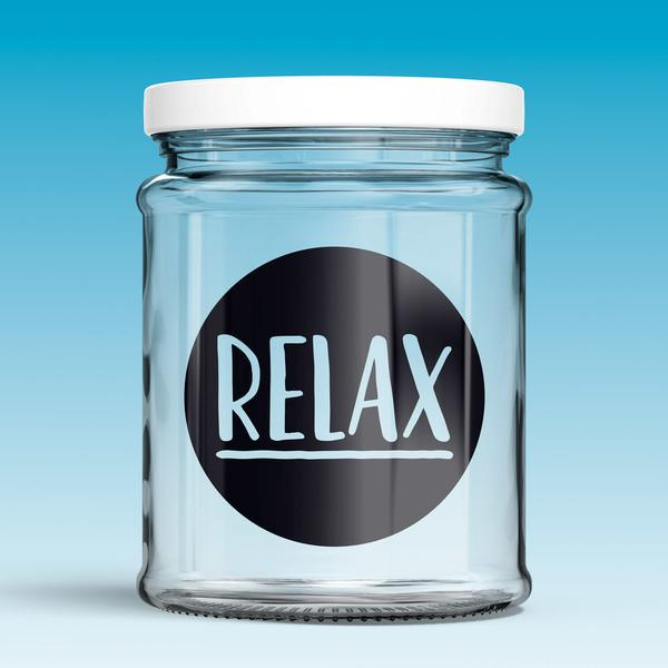 Vinilos Decorativos: Relax