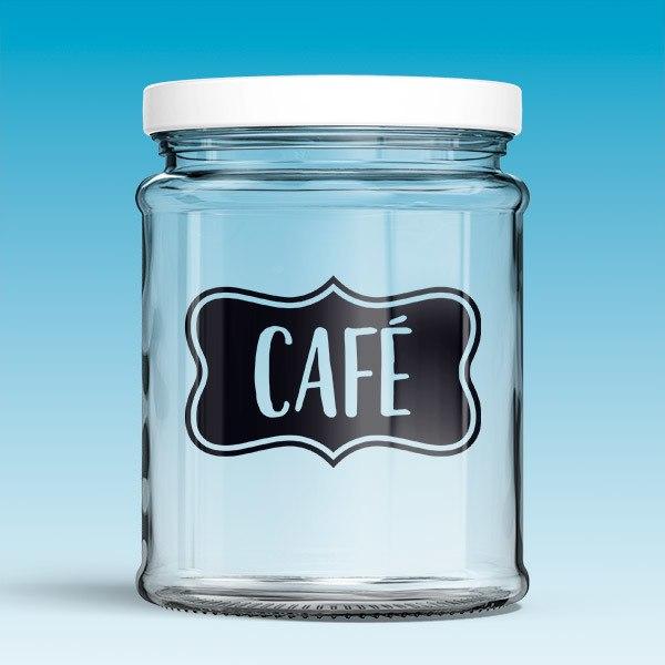 Vinilos Decorativos: Café