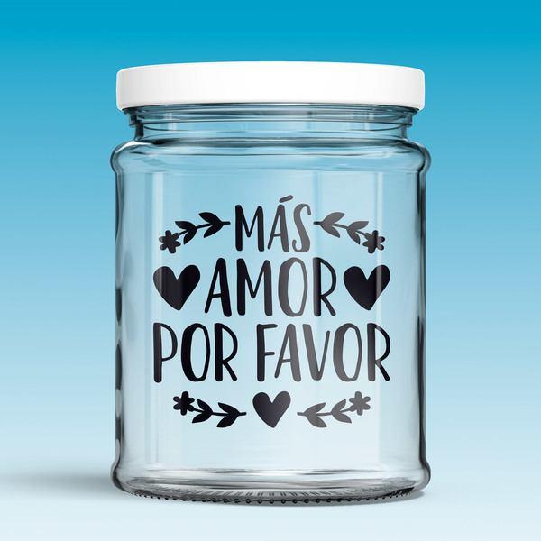 Vinilos Decorativos: Más amor por favor