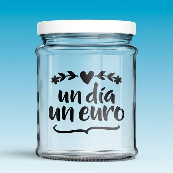Vinilos Decorativos: Un día, un euro