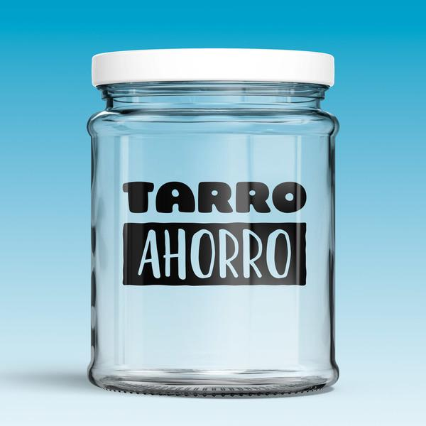 Vinilos Decorativos: Tarro Ahorro