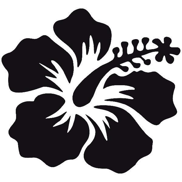 Vinilos Decorativos: Flower Surf 08