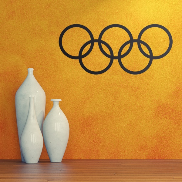 Pegatinas: Aros olimpicos