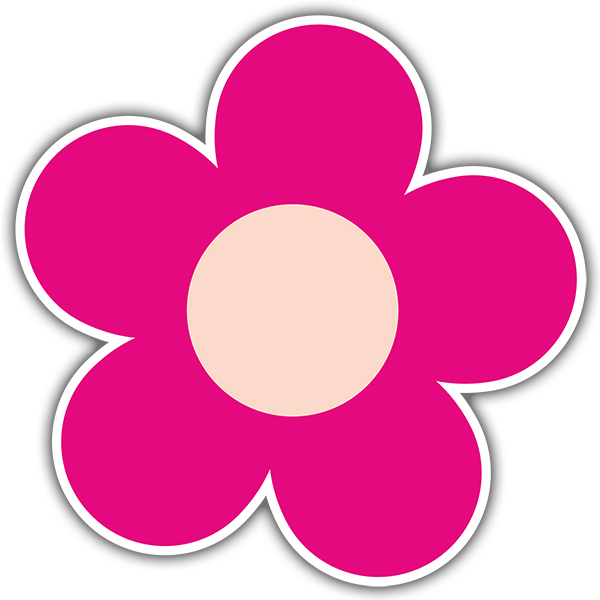 Vinilos Decorativos: Flor