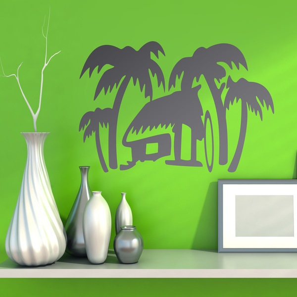 Vinilos Decorativos: Surf House