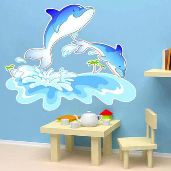 Vinilos Infantiles: Delfines