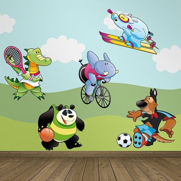 Vinilos Infantiles: Deportes