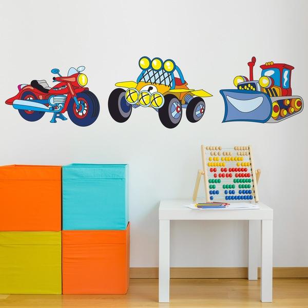 Vinilos Infantiles: Transport 06