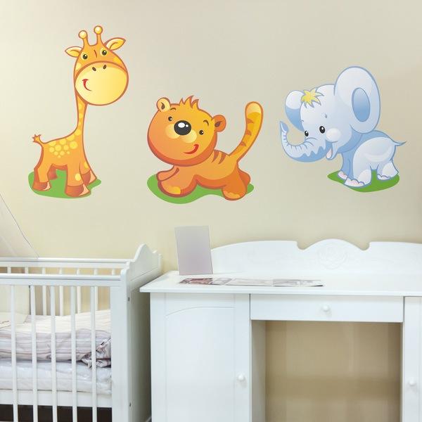 Vinilos Infantiles: Zoo 1